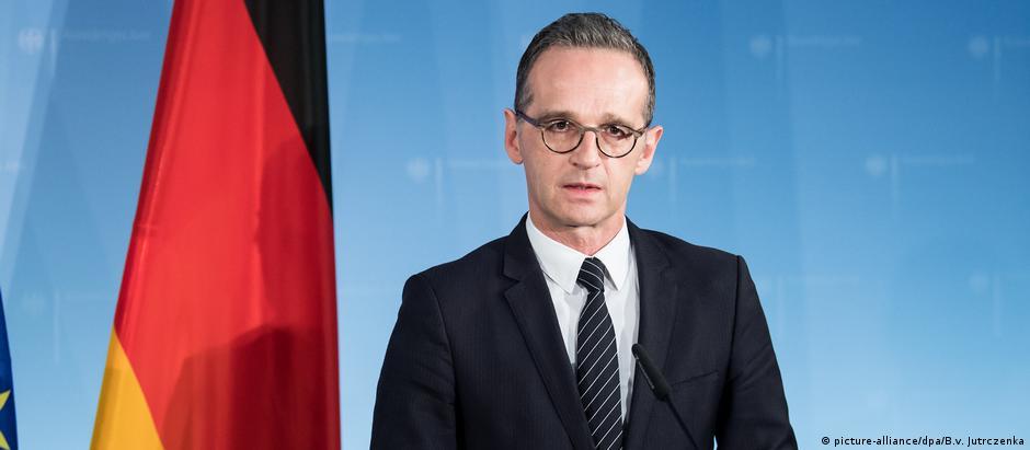 Министр иностранных дел ФРГ Хайко Мас в Берлине