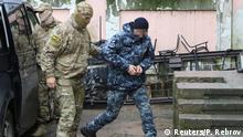 Russland Konflikt Krim Ukraine | inhaftierter ukrainischer Soldat in Simferopol