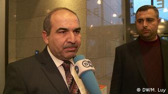 Dr. Mohamad Abrash, syrischer Arzt aus Idlib, European External Action Service (DW/M. Luy)