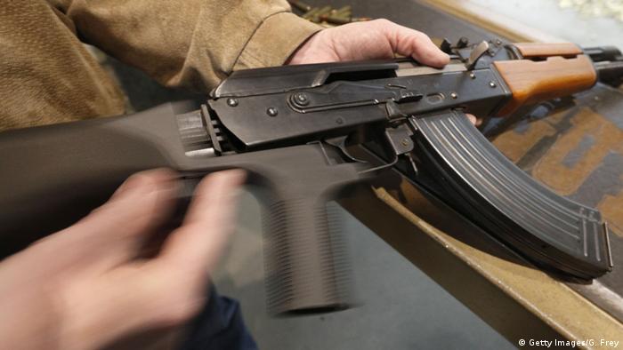 USA Waffe Kalaschnikow AK47