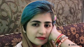 Iran Sepideh Gholian, Aktivistin (HRA-News)