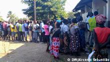 Mosambik - Wahlen in Marromeu