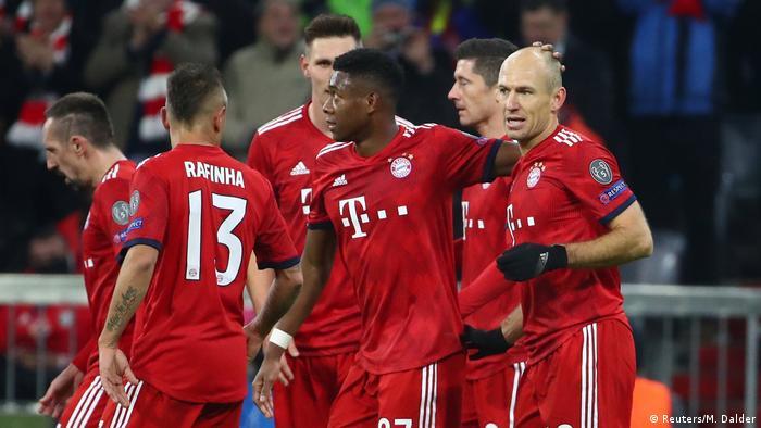 Fussball Champions League Spieltag 5 Gruppe E l Fc Bayern vs Benfica Tor 2:0