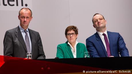 H ακτινογραφία των τριών φαβορί της CDU