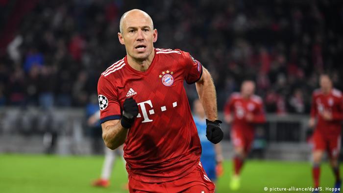 Arjen Robben Bayern Munich Home Jersey