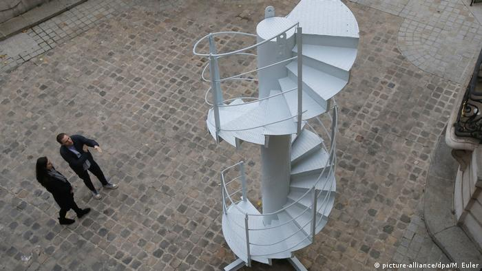 Original Spiral Staircase Section Of Paris Eiffel Tower Auctioned
