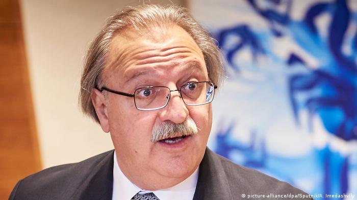 Grigol Vashadze presidential candidate in Georgia (picture-alliance/dpa/Sputnik/A. Imedashvily)