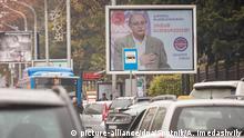 Georgien Wahlen Wahlplakat