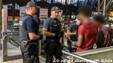 Polizeikontrollen am Hamburger Hauptbahnhof Racial Profiling
