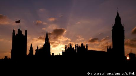Westminster at sunset (picture-alliance/empics/Y. Mok)