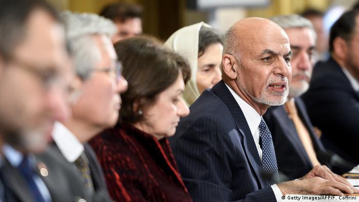 Genf Afghanistan Konferenz Ghani