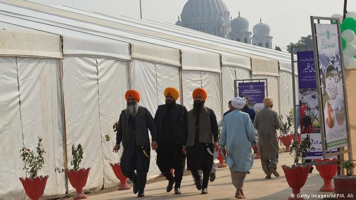 Öffnung Kartarpur-Korridor zwischen Indien und Pakistan (Getty Images/AFP/A. Ali)