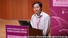 Hong Kong - He Jiankui - Wissenschaftler der ersten Genmanipulierten Babies