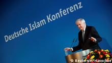German Interior Minister Horst Seehofer attends the German Islam conference in Berlin, Germany, November 28, 2018. REUTERS/Hannibal Hanschke