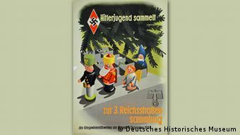 Пропагандистский плакат времен третьего рейха