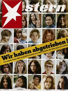 Κάναμε έκτρωση, δήλωναν το 1971 στο περιοδικό Stern 374 γυναίκες