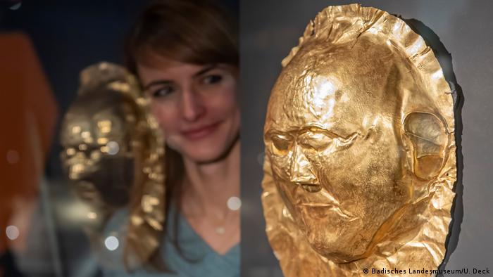 Золотая маска XVI века до н.э