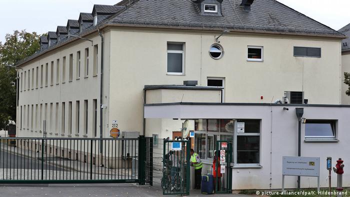Deutschland Migration l Ankerzentrum Unterfranken