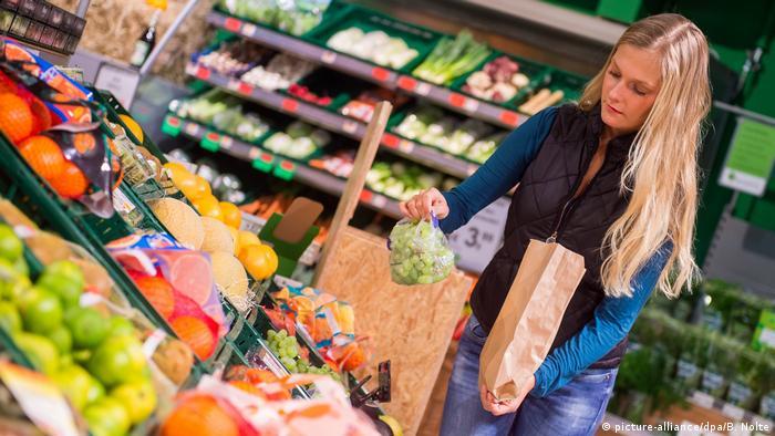 На пазар в супермаркета