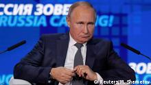 Russland Moskau VTB Capital Investment Forum Russia Calling! | Wladimir Putin, Präsident