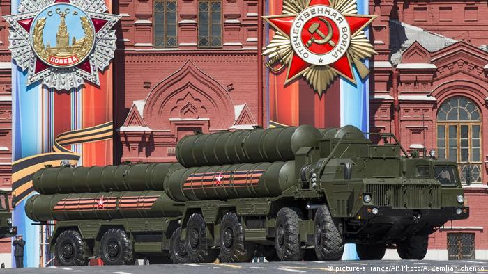 Russland Moskau 2017 | S-400 Luftabwehrsystem (picture-alliance/AP Photo/A. Zemlianichenko)