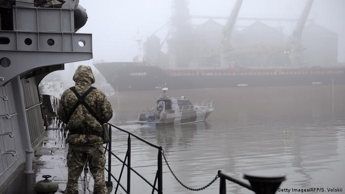 Ukraine Russland Konflikt Krim l Hafens im ukrainischen Mariupol am Asowschen Meer