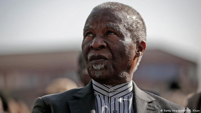 Thabo Mbeki Ex-Präsident Südafrika