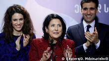 Georgien Präsidentschaftswahlen Stichwahl l Salome Zurabishvili