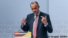 Deutschland CDU-Regionalkonferenz Düsseldorf l Ex-Fraktionschef Friedrich Merz