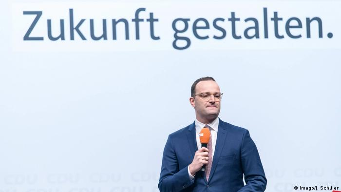 German Minister of Health Jens Spahn
