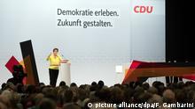 Deutschland CDU-Regionalkonferenz Düsseldorf l CDU Gerneralsekretärin Annegret Kramp-Karrenbauer