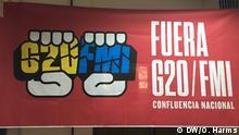 Argentinien Protest gegen den IWF und den G20 Gipfel