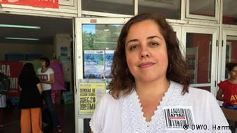 Luciana Ghiotto, ativista do ATTAC