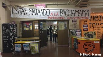 Στιγμιότυπο από πρόσφατη κινητοποίηση κατά του ΔΝΤ στην Αργεντινή
