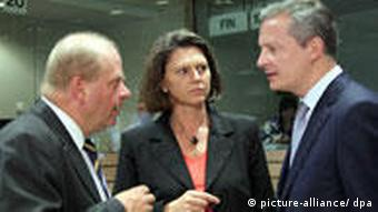 Ilse Aigner with other EU agriculture ministers