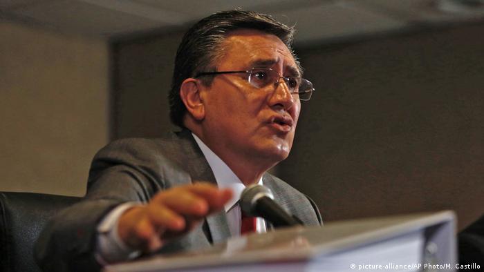Präsident der Nationalen Menschenrechtskommission Mexiko Luis Raul Gonzalez Perez