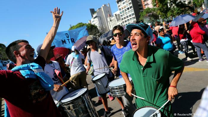 Argentinien Buenos Aires Proteste gegen G20 Gipfel