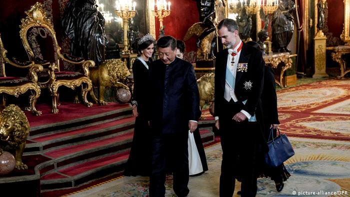 Spanien Besuch China Präsident Xi Jinping (picture-alliance/DPR)