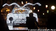 BdT - Mercedes Benz-Modell leuchtet: Glanzlichter Stuttgart