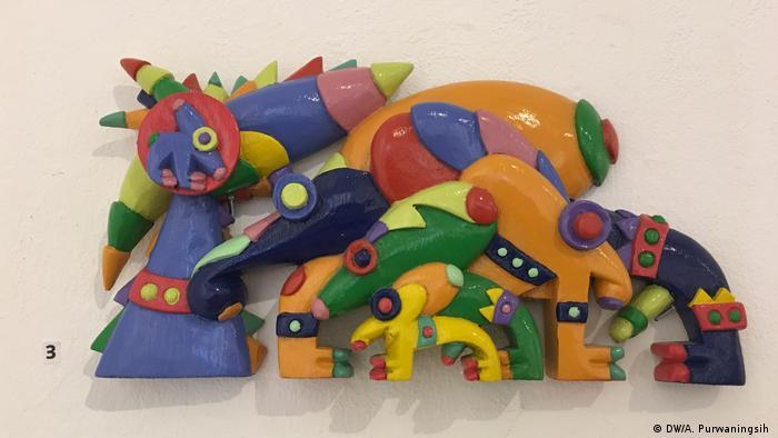 Köln - Ausstellung Daniel Kho: indonesischer Künstler (DW/A. Purwaningsih )