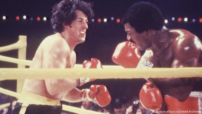Sylvester Stallone als Rocky im Ring (Foto: picture-alliance/United Archives)
