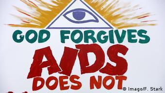 Lesotho - Aids Kampagne