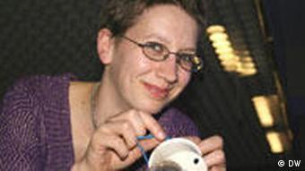 Alexandra Müller, die Organisatorin des Berliner Intimflohmarktes