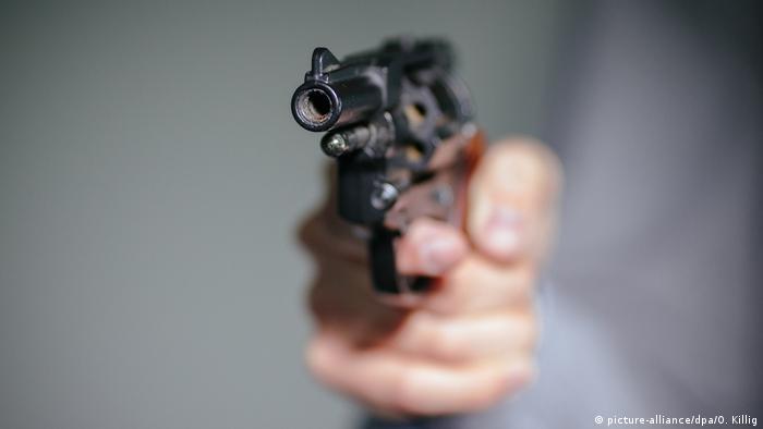 Upereni zračni pištolj