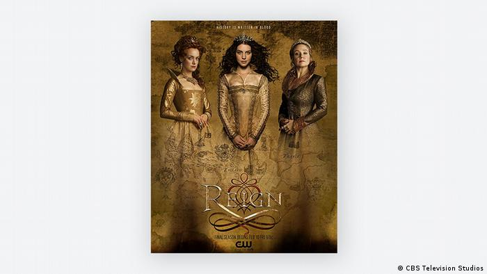 Poster showing three queens (CBS Television Studios)