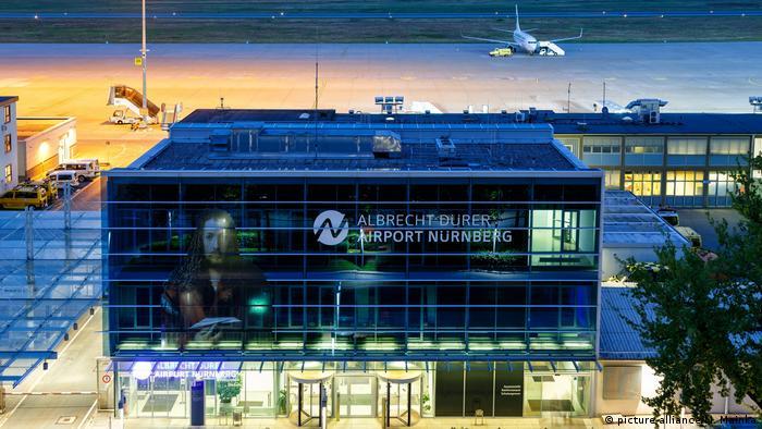 Аэропорт в Нюрнберге