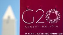 Argentinien Buenos Aires G20 Gipfel
