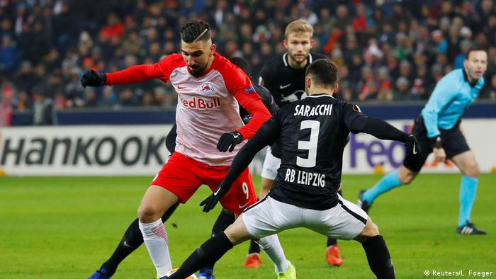 Fußball Europa League RB Leipzig - FC Red Bull Salzburg (Reuters/L. Foeger)