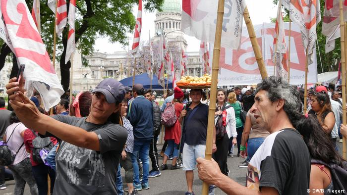Argentinien Buenos Aires G20 Gipfel Proteste