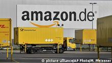 Deutschland Amazon Logistik Zentrum in Rheinberg (picture-alliance/AP Photo/M. Meissner)